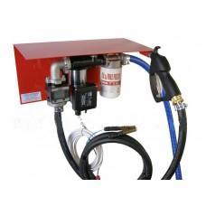 Мини АЗС 12 Вольт 56 л/мин с электронным счетчиком ( оптимально для перекачки дизельного топлива) PIUSI Италия