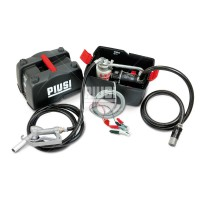Переносний заправний комплект 12 Вольт 45л / хв в пластиковому боксі (з фільтром) PIUSIBOX 12V PRO F0023101B для дизельного палива