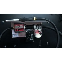 Міні АЗС 12В 50л / хв для перекачування бензину з насосом ЕХ50 PIUSI (Італія) і електронним лічильником MGE-110