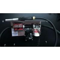 Мини АЗС 12В 50л/мин для перекачки бензина с насосом ЕХ50 PIUSI (Италия) и электронным счетчиком MGE-110