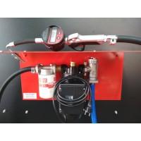 Маслостанція 220В з насосом 200 / 2М PIUSI Італія (9л / хв) і лічильником LM-OG Badger Meter (Німеччина) для густих масел