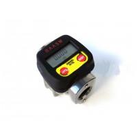 Электронный счетчик расходомер для дизельного топлива RAASM 1″ ( до100 л/мин ) (погрешность 0,3%) Италия