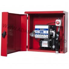 Міні АЗС в металевому ящику ARMADILLO Adam Pumps (Італія) 220V 70л / хв з механічним лічильником