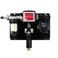 Мини АЗС 220В 75л/мин PIUSI с механическим счетчиком, фильтром сепаратором воды и насосом PANTHER72 для дизтоплива (Италия) для заправки грузовых авто