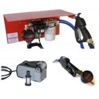 Мини АЗС 220 Вольт 40 л/мин с электронным счетчиком ( насос – Италия, счетчик – Германия) для перекачки дизельного топлива