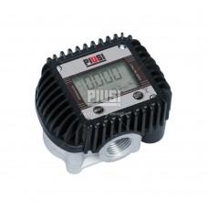 """Электронный счетчик для масел и дизельного топлива К400 ½"""" BSP ( 1-30 л/мин ) PIUSI Италия F00484000"""