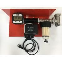 Мини АЗС 220В 56л/мин с насосом PANTHER 56 и электронным счетчиком с большим дисплеем PIUSI Италия
