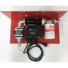 МініАзс 220В з електронним лічильником К33 та фільтром 70 л/хв