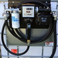 Мини АЗС 220 Вольт 56 л/мин с механическим счетчиком К33, сепаратором воды PIUSI ( Италия )