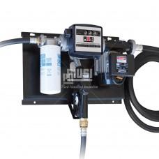Мини АЗС 220В 56л/мин с механическим счетчиком и фильтром сепаратором воды для дизтоплива, ST Panther 56 Filter + A60 ( F00386F0A ) PIUSI Италия