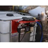 Кращий варіант комплектації АЗС 220В 56л / хв з насосом PANTHER 56 і електронним лічильником з великим дисплеєм PIUSI Італія