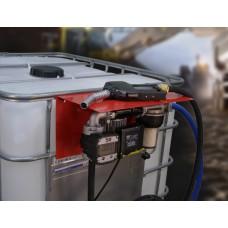 Лучший вариант комплектации АЗС 220В 56л/мин с насосом PANTHER 56 и электронным счетчиком с большим дисплеем PIUSI Италия