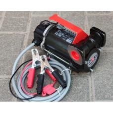 Переносной насос с ручкой для перекачки дизельного топлива 12В 50л/мин BP 3000 inline PIUSI Италия